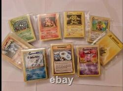 1400+ pack fresh and vintage cards Pokémon cards with 1st editions & Charizard's