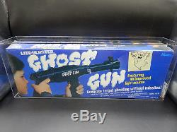 1976 vintage Hasbro GHOST GUN lite blaster toy SEALED Ceji AFA 80 ultra RARE MIB