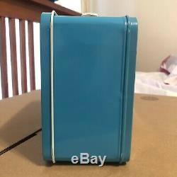 1983 Ultra Rare Steel Smurf Vintage Lunchbox