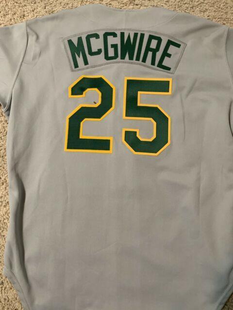 1988 Vintage Mark Mcgwire Oakland Athletics Jersey Size 48 Rawlings Ultra Rare
