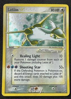 2006 Latias Gold Star105/107 EX Deoxys Pokemon ULTRA Rare Vintage Card