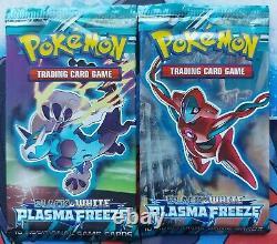 2013 Vintage Pokemon Booster Packs Plasma Freeze NewithSealed x 2 Ultra Rare Find