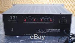 `77 Victor(jvc) M-2020 Vintage Power Amplifier Ultra Rare Jp Model Spec 2 4