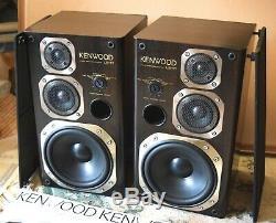 `88 Kenwood Ls-11m Vintage Monitor Speakers Ultra Rare Jp Import Model