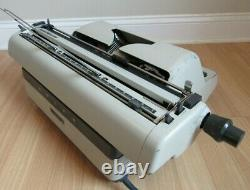 ADLER TYPEWRITER electric 21d EXTRA WIDE CARRIAGE 18 retro vintage ULTRA RARE