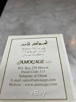 AMOUAGE Attar Vintage Shamas Al Doha Ultra Rare 9 ml Extract Oil Fragrance
