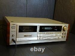 Aiwa Xk-s9000 Stereo Casette Deck Mint Legend Vintage Serviced Ultra Rare