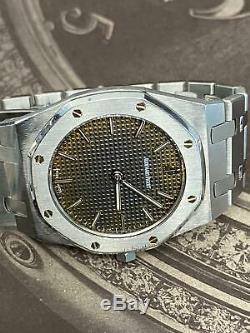 Audemars Piguet Royal Oak Vintage Tropical dial Ultra Thin RARE D SERIES