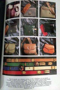 Authentic 1979 Vintage Hermes Deux Eperons Blue Leather Cuff Bracelet Ultra Rare