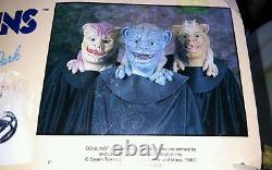 Boglins Halloween Mask! Ultra RARE! 1987! Vintage! With Card! Drool