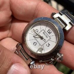Bulova Automatic Cartier Pasha Ultra Rare Men Vintage Watch Stunning