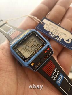 CASIO Watch SDB-300W NOS ULTRA RARE LAP MEMORY 30 Vintage Watch