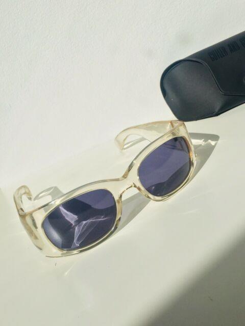 Cutler And Gross 0431 Vintage Ultra Rare Aristotle Sunglasses Crystal Japan