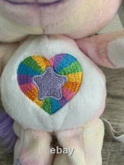Care Bears Cousin Noble Heart Horse 8 Beanie 2004 -ultra Rare