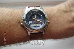 Casio Yacht Time AW-513 Vintage ana digi chrono alarm casio strap ULTRA RARE vgc