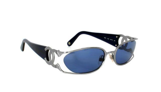 Chanel Vintage Sunglasses Large Cc 4023 Circa 1990s Ultra-rare