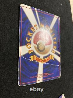 Charizard Blastoise Venusaur CD Promo Vintage HOLO 003 006 009 PokemonCard 1998