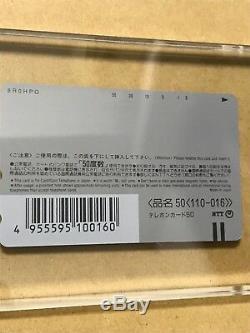 Charizard Pokemon 3rd Anniversary Premium Vintage Phone card Ultra Rare JAPAN