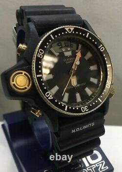 Citizen Promaster Aqualand C028 Titanium Ultra Rare taucher uhr vintage