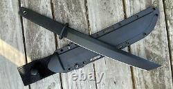Cold Steel 9 Oyabun Made In USA with Carbon V Steel Ultra Rare Vintage HTF
