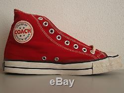 Converse Coach 1975 US 7.5 Deadstock BNIB Vintage All Star Stars Ultra Rare