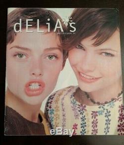 DELiA's delias Teen Catalog Back to School 1997 Ultra rare dolls kill Vintage