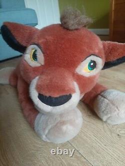 Disney VTG RETRO Lion King KOVU ULTRA RARE Simba PLUSH toy X LARGE AMAZING CON