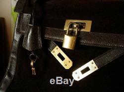 GORGEOUS Ultra Rare SAKS FIFTH AVE Vintage Kelly Birkin Hand Bag Purse Tote