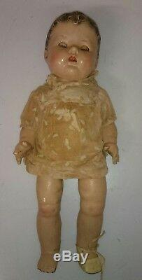 Gorgeous Ultra Rare Baby Antique Doll 1900 1930