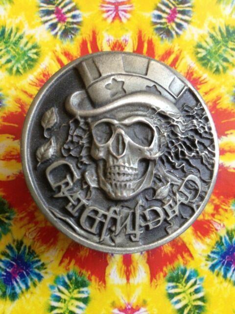 Grateful Dead Belt Buckle Vintage 1992 Gdm Authentic Ultra Rare Psycle Sam Usa