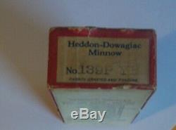 Heddon Ultra Rare Bottlenose Tadpolly Perch Scale 1919 Earliest Tadpolly Ex