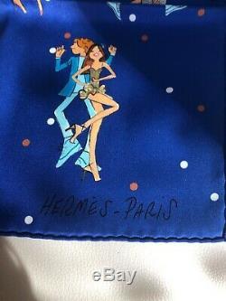 Hermes Carre 70 Les Parisiennes De Kiraz Soie Vintage New Ultra Rare Sold Out