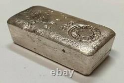 Homestake Mining Company 1982 10.12 oz Vintage Poured Silver Bar Ultra Rare