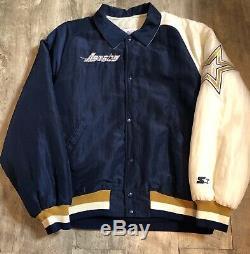 Houston Astros Vintage Starter Jacket Medium Ultra Rare Original (Selena)