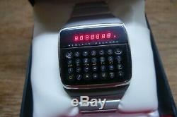 Hp-01 Ultra Rare Vintage Calculator Watch Works Perfectly