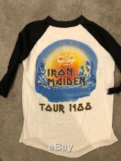 Iron Maiden vintage, ultra rare, Seventh Son of a Seventh Son Concert Tour. 1988