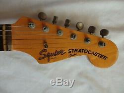 JV Fender Japan Vintage Stratocaster 1982 Fiesta Red ULTRA rare FRD 62 RI