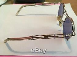 Jean Paul Gaultier Mod. 56 0174 Vintage Sunglasses 90's Ultra Rare Steampunk