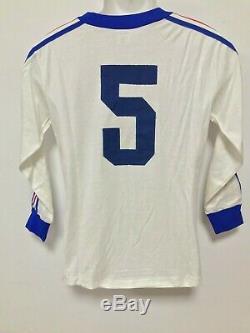 Jugoslavia Maglia Shirt Jersey Match Worn Indossata 70/80 Old Vintage Ultra Rare