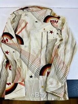 Kiss Aucoin 1978 Vintage Image Disco Shirt Ultra Rare JC Penney kids size 14