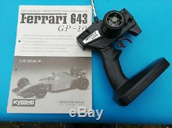 Kyosho Ferrari 643 F1 Gp-10 1/8 Scale Nitro 90's Vintage Ultra Rare Collectable