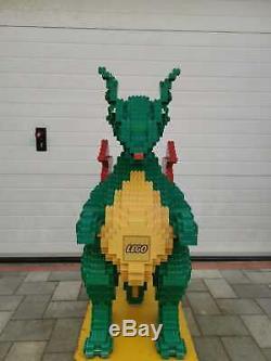 LEGO DUPLO ORIGINAL VINTAGE STORE FIGURE Dragon 1,30 Meter XXL ULTRA RARE