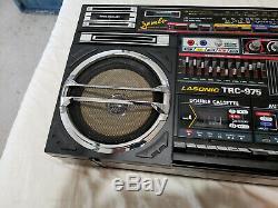 Lasonic TRC-975 Jumbo Boombox Ultra Rare Vintage Ghetto Blaster 1988