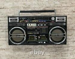 Lasonic TRC-975 Jumbo Boombox Ultra Rare Vintage Ghetto Blaster Hip Hop