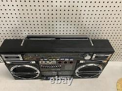 Lasonic TRC-975 Jumbo Boombox Ultra Rare Vintage JAPAN NICE BEAUTIFUL HUGE BEAST