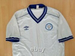 Leeds United 1984 1985 Vintage Football Jersey M L Ultra Old RARE Umbro 1980s