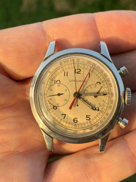 Longines 13zn-12 Ultra Rare Chronograph Sommatore Centrale Vintage Watch