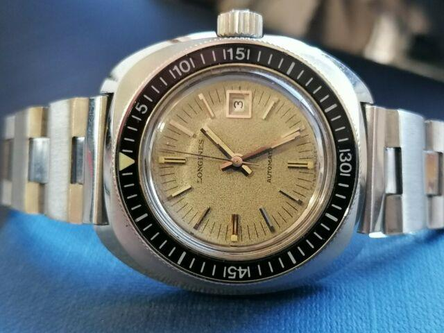 Longines Diver Bachelite Swiss Made Ultra Rare Vintage