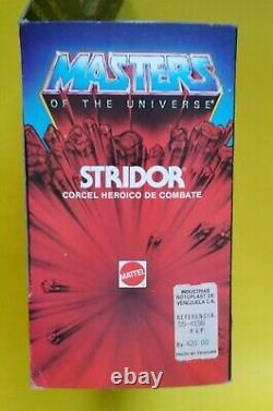 Masters of the Universe MOTU Rotoplast Vintage Stridor Venezuela ultra rare