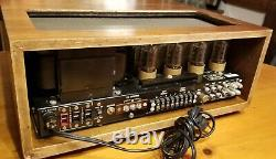 McINTOSHMAC 1500STEREO TUBE AMPLIFIERULTRA RARE VINTAGE AMPc1965S/N-19F53